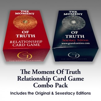 The Moment Of Truth Relationship Card Game Combo Pack