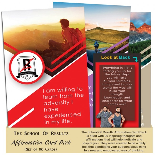 The School Of Resultz Affirmation Card Deck